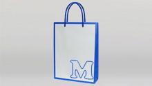 機械製袋手提袋(紐手作業)